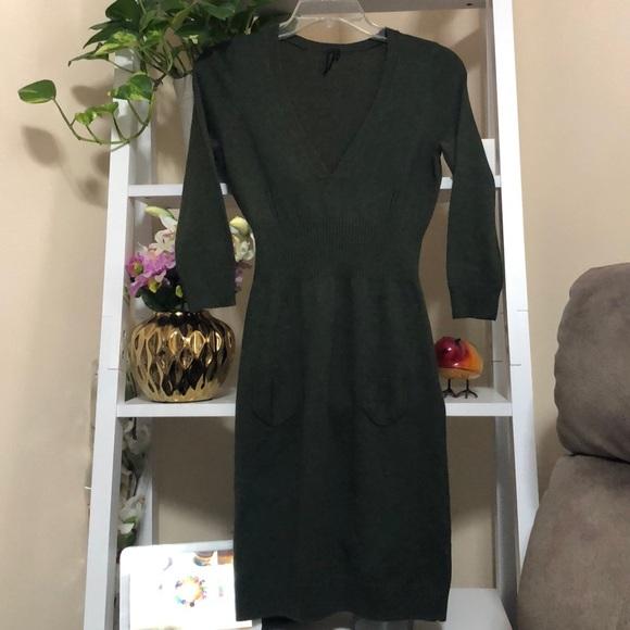 Topshop Sweater Mini Dress